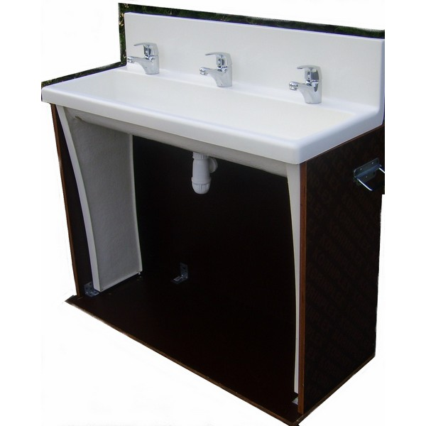 LAVABO 3 POINTS raccordable
